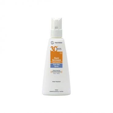 Frezyderm Sunscreen Spray Anti-Seb SPF 30 150ml - Αντηλιακά στο Pharmeden.gr - Online Φαρμακείο