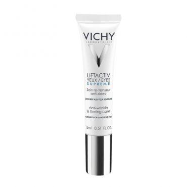 Vichy Liftactiv Supreme Eye Cream 15ml - Πρόσωπο στο Pharmeden.gr - Online Φαρμακείο