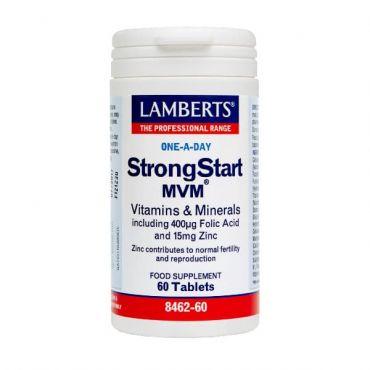Lamberts Strongstart MVM 60 tabs - Βιταμίνες στο Pharmeden.gr - Online Φαρμακείο
