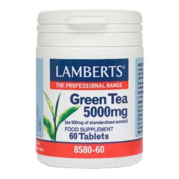 Lamberts Green Tea 5000mg 60 tabs - Συμπληρώματα Διατροφής στο Pharmeden.gr - Online Φαρμακείο