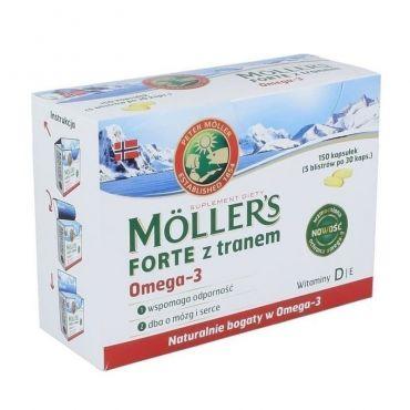 Moller's Forte Omega 3 150caps - Συμπληρώματα στο Pharmeden.gr - Online Φαρμακείο