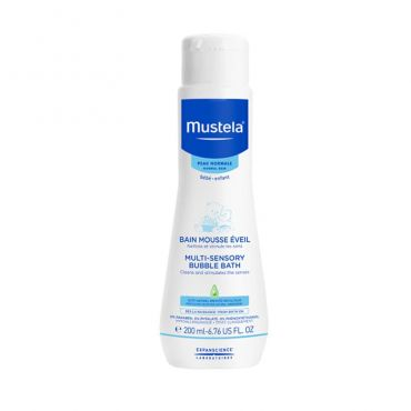 Mustela Multisensory Bubble Bath 200ml - Βρέφη στο Pharmeden.gr - Online Φαρμακείο