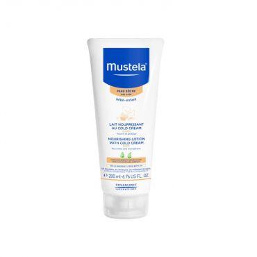Mustela Nourishing Lotion + Cold Cream 200ml - Βρέφη στο Pharmeden.gr - Online Φαρμακείο