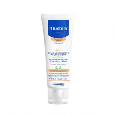 Mustela Nourishing Cream + Cold Cream 40ml - Βρέφη στο Pharmeden.gr - Online Φαρμακείο