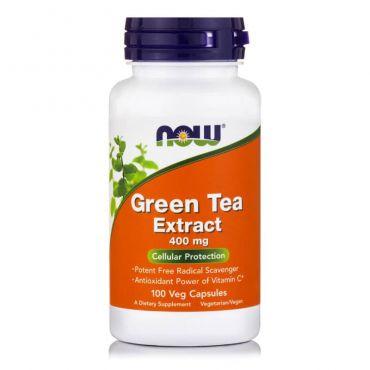 Now Foods EGCg Green Tea Extract 400 mg (50% ECGg, 98% Polyphenols) 90 Vcaps - Συμπληρώματα Διατροφής στο Pharmeden.gr - Online Φαρμακείο