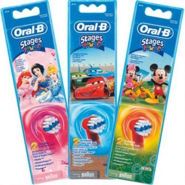 Oral-B Stages Power Κεφαλές Βουρτσίσματος 2τεμ - Στοματική Υγιεινή στο Pharmeden.gr - Online Φαρμακείο