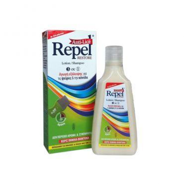 Uni-Pharma Repel Anti-lice Restore 200gr - Παιδιά στο Pharmeden.gr - Online Φαρμακείο