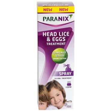 Paranix Spray Σπρέι Εξάλειψης Ψειρών και Αυγών 100ml - Παιδιά στο Pharmeden.gr - Online Φαρμακείο