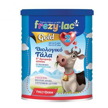 Frezyderm Frezylac Gold 2 Βιολογικό Αγελαδινό Βρεφικό Γάλα 400gr - Βρεφικές Τροφές στο Pharmeden.gr - Online Φαρμακείο