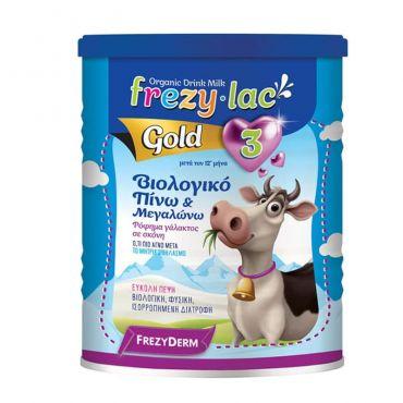 Frezyderm Frezylac Gold 3 Βιολογικό Αγελαδινό Βρεφικό Γάλα 400gr - Βρεφικές Τροφές στο Pharmeden.gr - Online Φαρμακείο