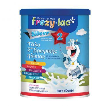 Frezyderm Frezylac Silver 2 Βρεφικό Αγελαδινό Γάλα 400gr - Βρεφικές Τροφές στο Pharmeden.gr - Online Φαρμακείο