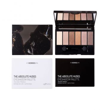 Korres Volcanic Minerals Eyeshadow Palette The Absolute Nudes 6gr - Μακιγιάζ στο Pharmeden.gr - Online Φαρμακείο