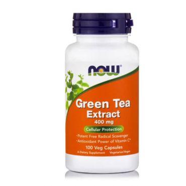 Now Foods Green Tea Extract 400 mg 100 Caps - Συμπληρώματα Διατροφής στο Pharmeden.gr - Online Φαρμακείο