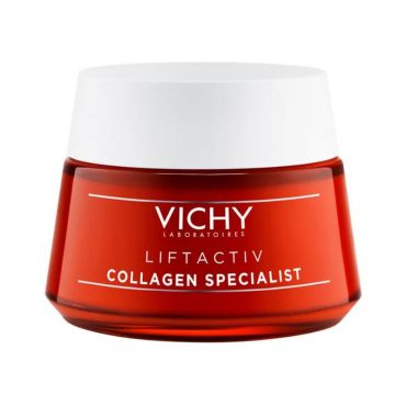 Vichy Liftactiv Collagen Specialist Face Cream 50ml - Πρόσωπο στο Pharmeden.gr - Online Φαρμακείο