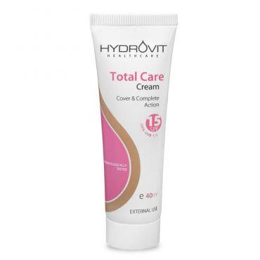 Hydrovit Total Care Cream SPF 15 40ml - Πρόσωπο στο Pharmeden.gr - Online Φαρμακείο