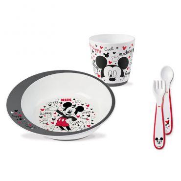 Nuk Εκπαιδευτικό Σετ Φαγητού Disney Mickey 6m+ - Αξεσουάρ για Μωρά στο Pharmeden.gr - Online Φαρμακείο