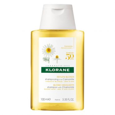 Klorane Blonde Highlights Shampoo with Chamomile Travel Size 100ml - Παιδιά στο Pharmeden.gr - Online Φαρμακείο