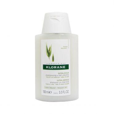 Klorane Ultra Gentle Shampoo with Oat Milk Travel Size 100ml - Μαλλιά στο Pharmeden.gr - Online Φαρμακείο