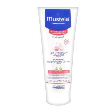 Mustela Soothing Moisturizing Lotion 200ml - Βρέφη στο Pharmeden.gr - Online Φαρμακείο