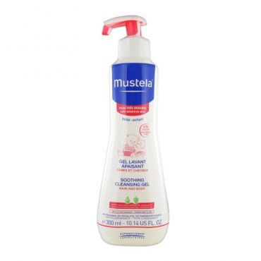 Mustela Soothing Cleansing Gel for Baby 300ml - Βρέφη στο Pharmeden.gr - Online Φαρμακείο