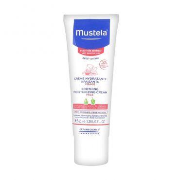 Mustela Soothing Moisturizing Cream 40ml - Βρέφη στο Pharmeden.gr - Online Φαρμακείο