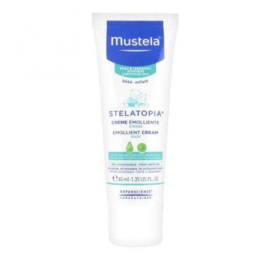 Mustela Stelatopia Emollient Face Cream 40ml - Βρέφη στο Pharmeden.gr - Online Φαρμακείο