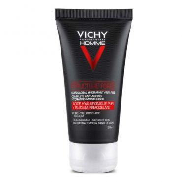 Vichy Homme Structure Force  Αντιγηραντική για Πρόσωπο & Μάτια 50ml - Πρόσωπο στο Pharmeden.gr - Online Φαρμακείο