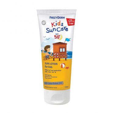 Frezyderm Frezy Sun Kid's Lotion SPF50+ 175ml - Αντηλιακά στο Pharmeden.gr - Online Φαρμακείο