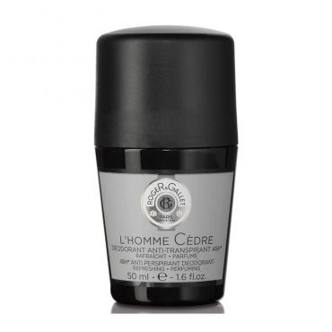 Roger & Gallet L'Homme Cedre Roll-on Deodorant 50ml - Σώμα στο Pharmeden.gr - Online Φαρμακείο