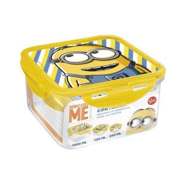 Stor Minions Σκεύη Φύλαξης Φαγητού 3 τεμ - Αξεσουάρ για Μωρά στο Pharmeden.gr - Online Φαρμακείο
