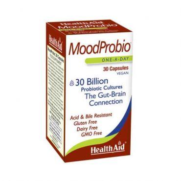 Health Aid Moodprobio 30 caps - Συμπληρώματα στο Pharmeden.gr - Online Φαρμακείο