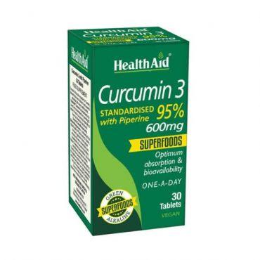 Health Aid Curcumin 3 30tabs - Συμπληρώματα Διατροφής στο Pharmeden.gr - Online Φαρμακείο