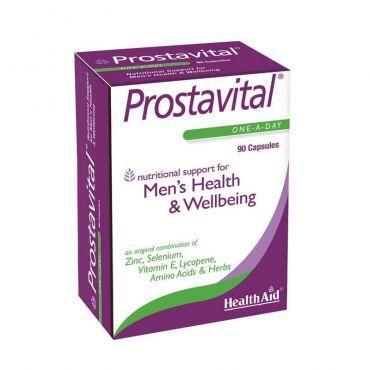 Health Aid Prostavital 90caps - Συμπληρώματα Διατροφής στο Pharmeden.gr - Online Φαρμακείο