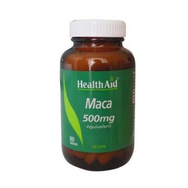 Health Aid MACA 500mg 60 tabs - Συμπληρώματα Διατροφής στο Pharmeden.gr - Online Φαρμακείο