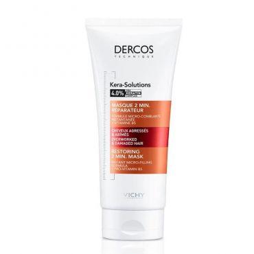 Vichy Dercos Kera-Solutions Restoring 2min Μάσκα για Ξηρά Μαλλιά 200ml - Μαλλιά στο Pharmeden.gr - Online Φαρμακείο