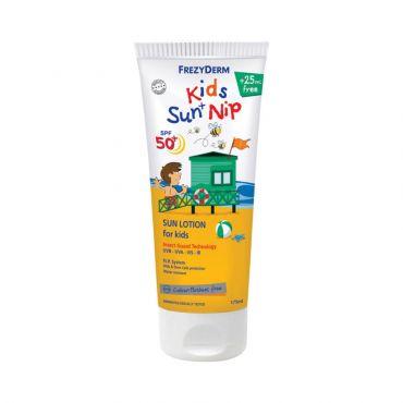 Frezyderm Frezy Kid's Sun Nip SPF50+ 175ml - Αντηλιακά στο Pharmeden.gr - Online Φαρμακείο