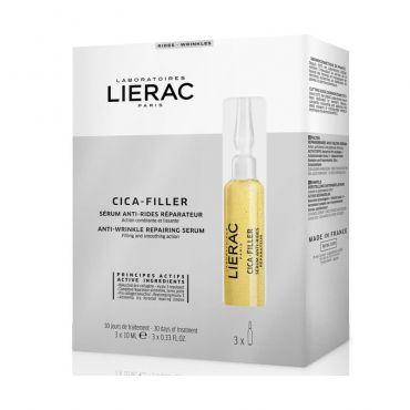 Lierac Cica Filler Serum Anti-Rides 3x10ml - Πρόσωπο στο Pharmeden.gr - Online Φαρμακείο