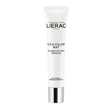 Lierac Cica Filler Mat Gel Creme Antirides 40ml - Πρόσωπο στο Pharmeden.gr - Online Φαρμακείο