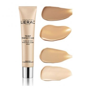 Lierac Teint Perfect Skin Perfecting Illuminating Fluid SPF20 30ml - Μακιγιάζ στο Pharmeden.gr - Online Φαρμακείο