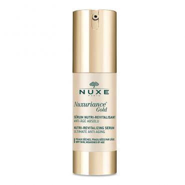 Nuxe Nuxuriance Gold Nutri-Revitalizing Serum 30ml - Πρόσωπο στο Pharmeden.gr - Online Φαρμακείο