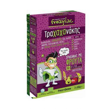 Frezyderm Frezylac Τραχαχανάκης Τραχανάς με Φρούτα 2x165gr - Βρεφικές Τροφές στο Pharmeden.gr - Online Φαρμακείο