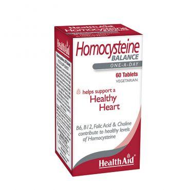 Health Aid Homocysteine 60tabs - Συμπληρώματα Διατροφής στο Pharmeden.gr - Online Φαρμακείο