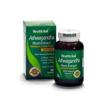 Health Aid Ashwagandha Root Extract 375mg 60tabs - Συμπληρώματα Διατροφής στο Pharmeden.gr - Online Φαρμακείο