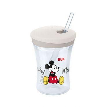 Nuk Disney Mickey Action Cup με Καλαμάκι 230ml - Αξεσουάρ για Μωρά στο Pharmeden.gr - Online Φαρμακείο