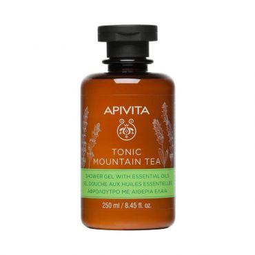 Apivita Tonic Mountain Tea Shower Gel 250ml - Σώμα στο Pharmeden.gr - Online Φαρμακείο