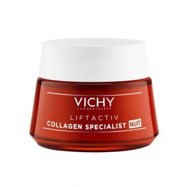 Vichy Liftactiv Collagen Specialist Κρέμα Νύχτας 50ml - Πρόσωπο στο Pharmeden.gr - Online Φαρμακείο