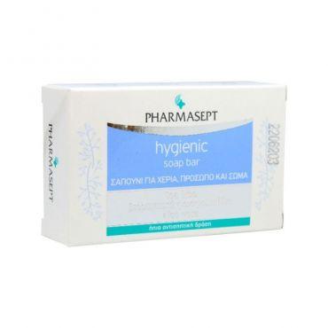 Pharmasept Hygienic Soap Bar Σαπούνι για Χέρια, Πρόσωπο & Σώμα 100gr - Σώμα στο Pharmeden.gr