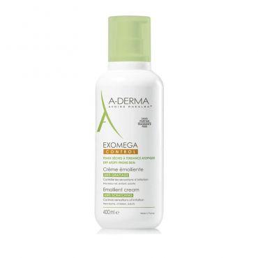A-Derma Exomega Control Creme Emolliente Anti-Grattage 400ml - Πρόσωπο στο Pharmeden.gr - Online Φαρμακείο