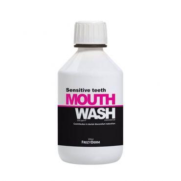 Frezyderm Mouthwash Sensitive Teeth 250ml - Στοματική Υγιεινή στο Pharmeden.gr - Online Φαρμακείο