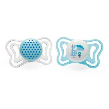 Chicco Πιπίλα Light Μπλε Πουλάκι Ηλικία 2-6 μηνών 2 τεμ - Αξεσουάρ για Μωρά στο Pharmeden.gr - Online Φαρμακείο